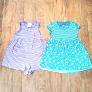 2 Summer Dresses Size 3T